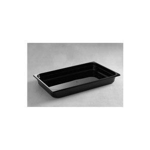 Hendi Gastronormbak 1/1 - 65 mm - schwarz Polycarbonat