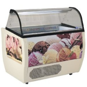 Diamond Unit Leveling For Ice Cream | 10 Baking | -10 / -20 Degrees | with castors | 1385x930x (H) 1285mm