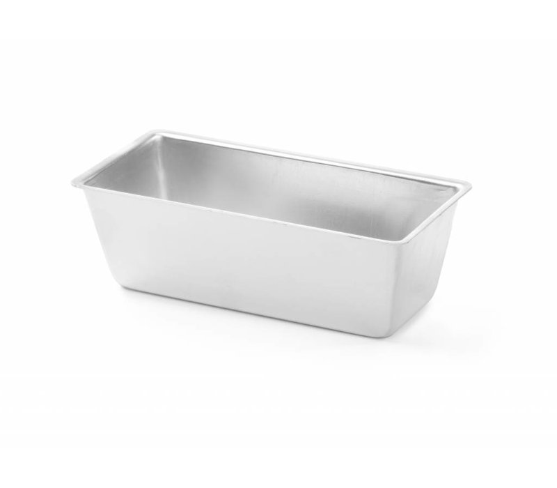 Hendi Cake Form 180x80x60 mm - rectangular aluminum