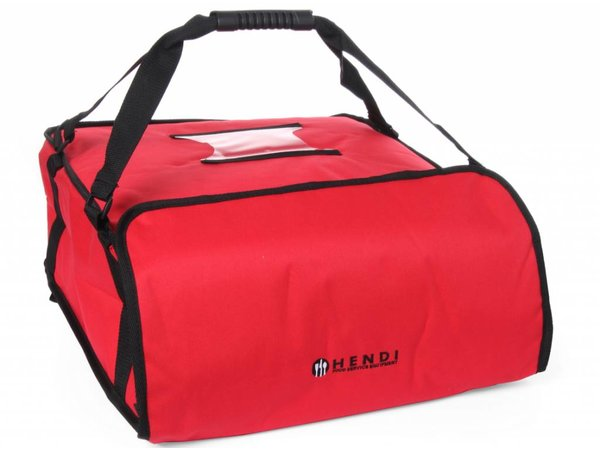 Hendi Pizza transport bag 450x450 mm - H 50 mm for 4 boxes
