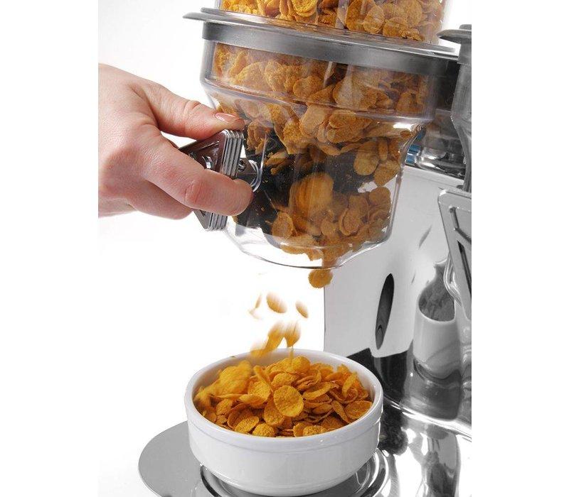 Hendi Multi dispenser Stainless steel   3.5 Liter   Airtight lockable