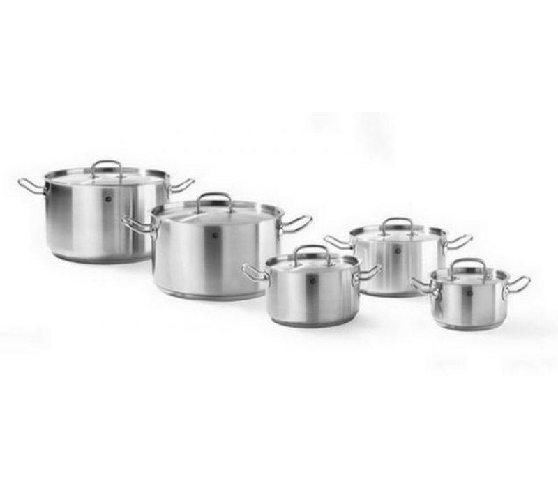 Hendi Casserole / Stockpot stainless Layer Model - 1.5 Liter - CHOICE OF 5 SIZES