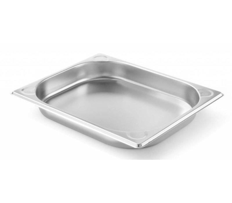 Hendi Gastronormbak RVS 1/2 - 40 mm | 325x265mm