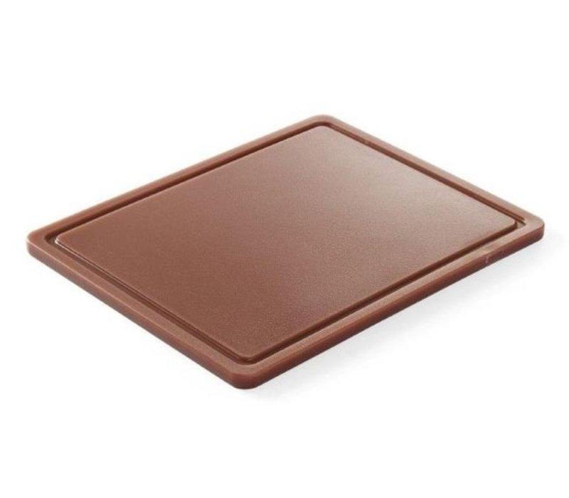 Hendi Cutting boards HACCP - 265x325x12mm - GN 1/2 - with sap drain - 6 COLOURS