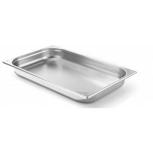 Hendi Gastronormbak RVS 1/1 - 65 mm | 325x530mm