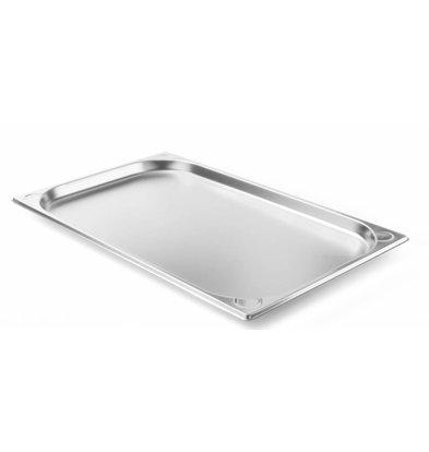 Hendi Gastronormbak RVS 1/1 - 20 mm | 325x530mm