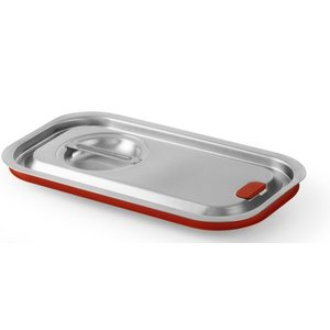 Hendi Gastronorm lid z / uitsp. 1/3 | Silicon Border