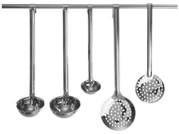 Hendi Opscheplepel RVS - Vaatwasserbestendig - Kitchen Line - 0.21 l - 100x350 mm