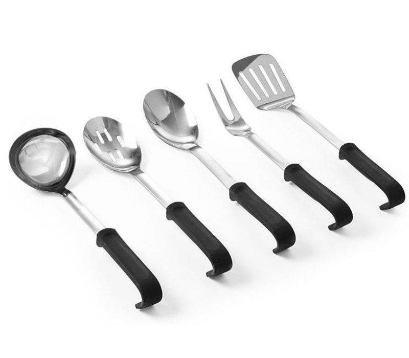 Hendi Fleischgabel aus Edelstahl 345 mm - mit PP Griff Küchenzeile