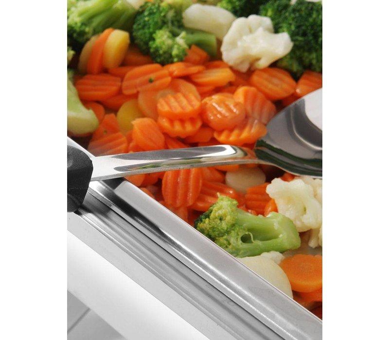 Hendi Vorlegelöffel aus Edelstahl - Spülmaschinenfest - mit PP Griff - Küchenzeile - 350mm