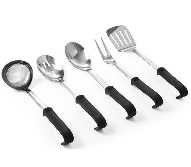 Hendi Stainless steel spatula | PP Handle | 355 mm