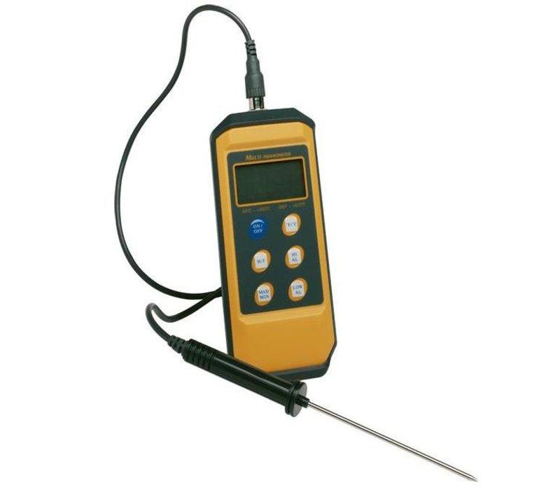 Hendi Digital-Fleisch-Thermometer-Sonde - mit abnehmbarer Stifsonde | -50 ° C bis + 300 ° C