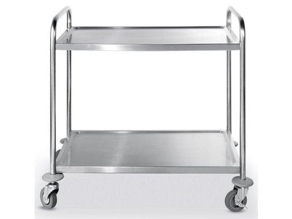 Hendi Serving trolley - 2 blades - 900x590x (h) 930mm - 150Kg