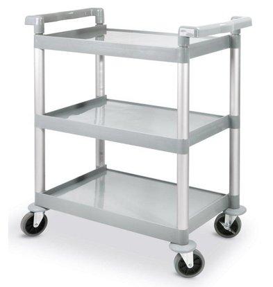 Hendi Serving trolley - three blades - Plastic - 150Kg - 800x410x (h) 950mm
