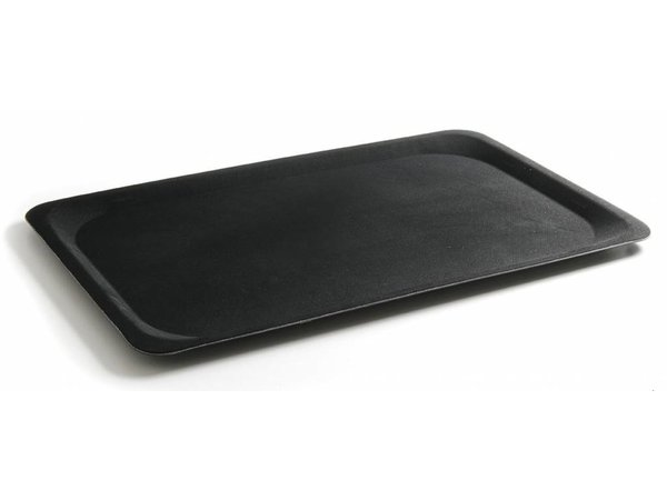Hendi Professional Tray | Black with Fiberglass Reinforced Polyester | 1/1 GN | 325x530 mm