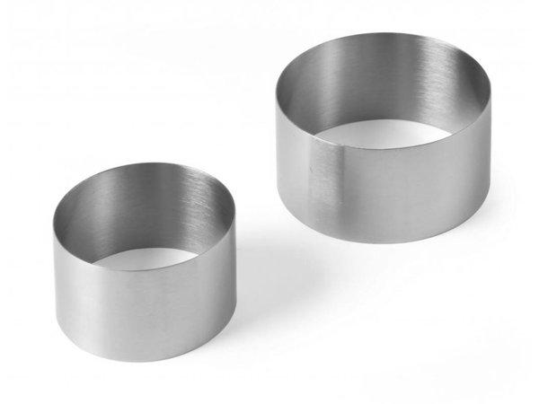 Hendi Pie Ring Stainless | Ø70x (H) 45mm
