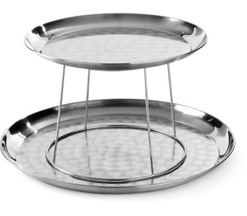 Hendi Seafood Plateau Standard - stainless steel tray with 300 and 400 mm