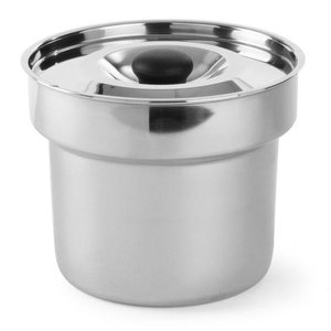 Hendi Bain-marie pan m/deksel 4,2 l - voor Thermo System + Chaf.dish