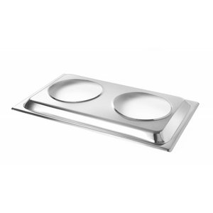 Hendi Attachment for two bain marie pots