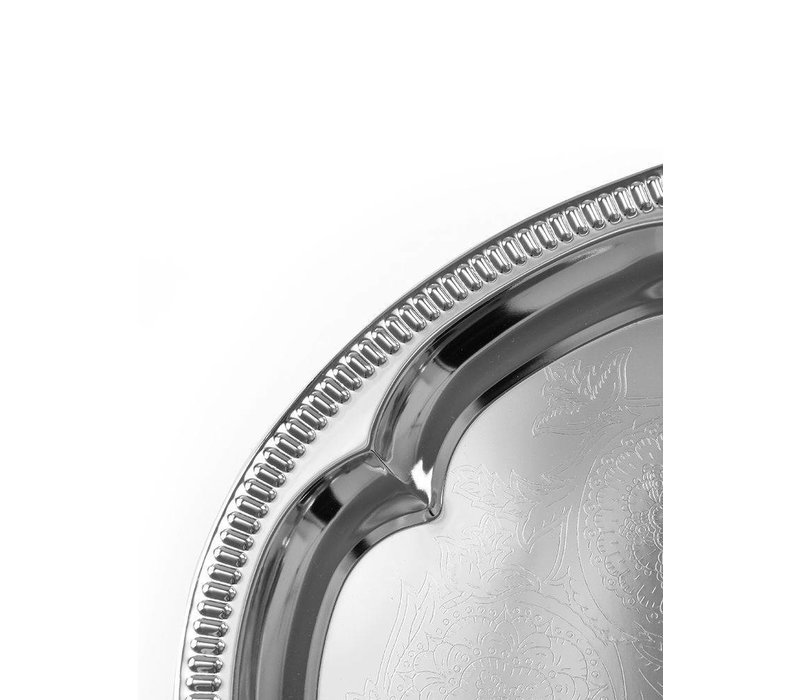 Hendi Party Platter Oval | Chrome | 455x340mm