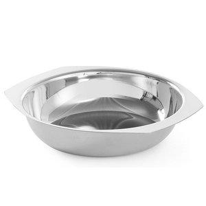 Hendi Vegetable Bowl Edelstahl - 200x (H) 50 mm