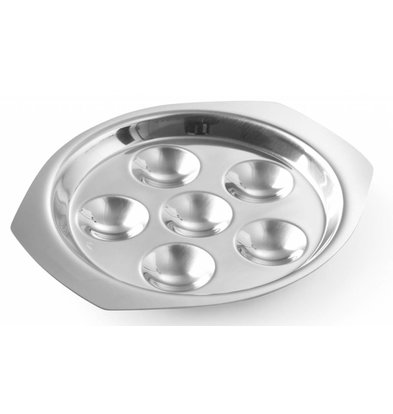 Hendi Snails Scale stainless steel 150x20 mm - for six snails
