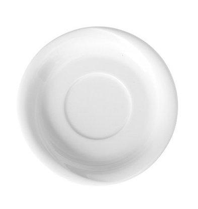 Hendi Dish for mokkakop Saturn - Ø125 mm - White - Porcelain