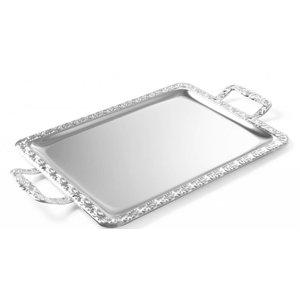 Hendi Plateau SRG100 | Handles in chrome steel | 520x310mm