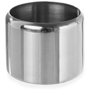 Hendi Zucker Jar Edelstahl   0,3 Liter   Ohne Deckel   Ø85x (H) 65 mm