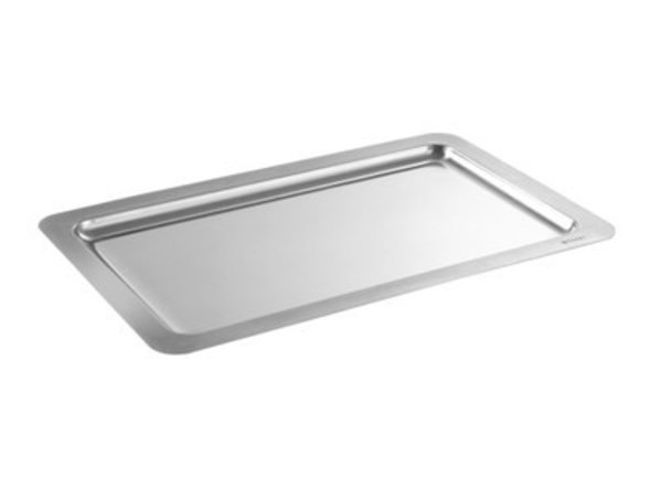 Hendi Serve Plateau | Rectangle | Stainless steel | GN 1/1 | 530x325x (H) 17mm