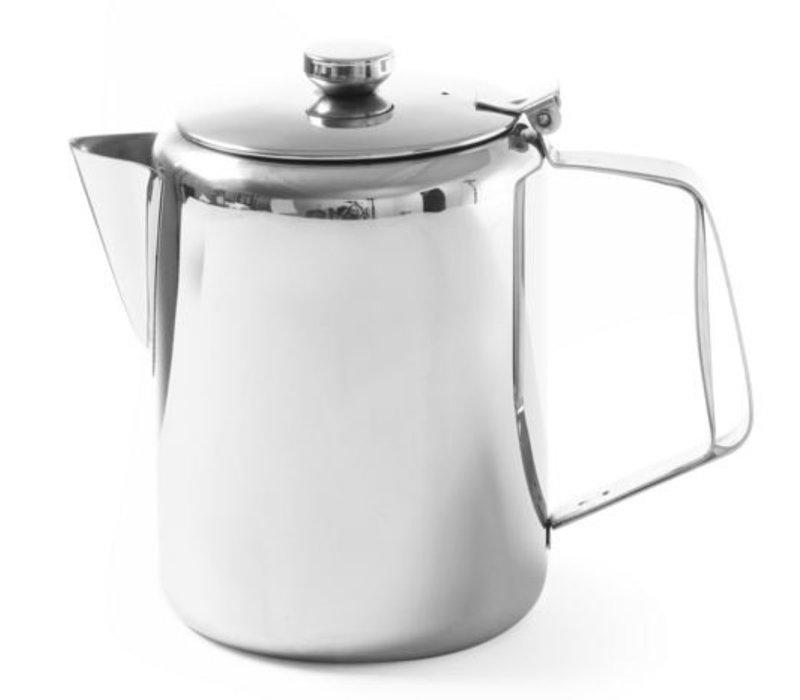 Hendi Kaffeekanne | Edelstahl | Mit Deckel | 0,2 Liter