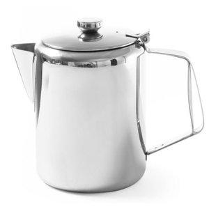 Hendi Kaffeekanne RVS | Mit Deckel | 0,9 Liter | Ø120x (H) 158mm
