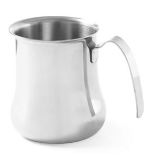 Hendi Cappuccino Steam Kannetje | Stainless steel | 0.9 Liter | 100x115mm