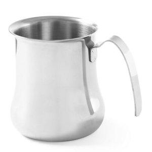 Hendi Cappuccino Stoomkannetje | RVS | 0,9 Liter | 100x115mm