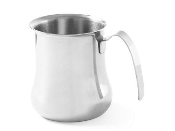 Hendi Cappuccino Dampf Kannetje | Edelstahl | 0,9 Liter | 100x115mm