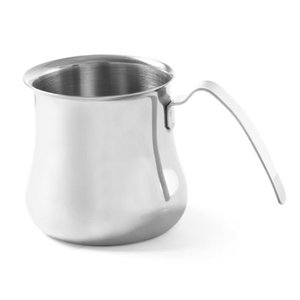 Hendi Cappuccino Steam Kannetje | 0.7 Liter | Stainless steel | 95x105mm
