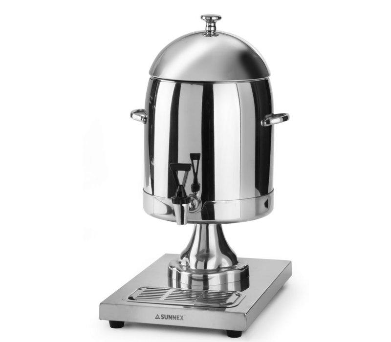 Hendi Milchspender mit Eis Zylinder 10,5 Liter