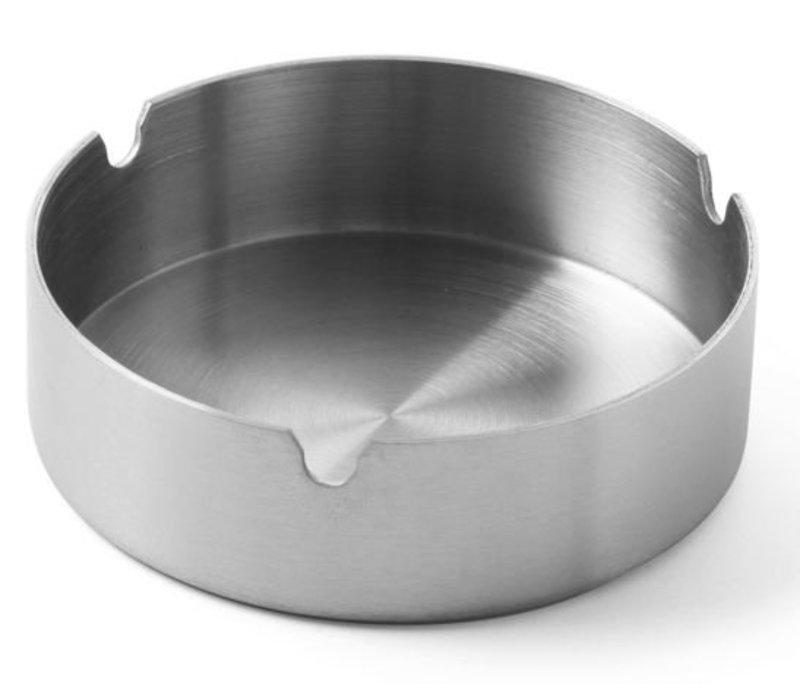 Hendi Stainless steel ashtray | Stackable | 95x28mm