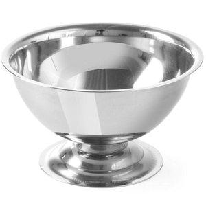 Hendi Ice cream dish on foot stainless steel - 90x50 mm