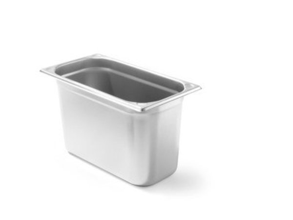Hendi Gastronormbak RVS 1/3 - 200 mm | 325x176mm