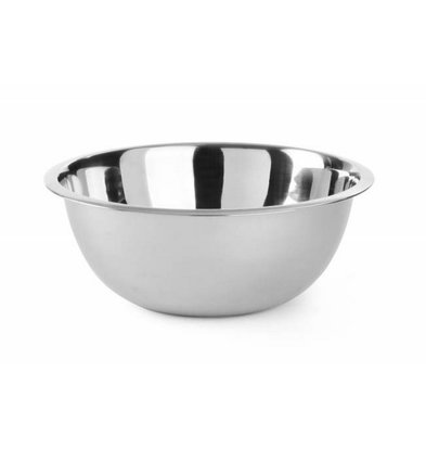 Hendi Stainless steel mixing bowl - 2.3-liter - Ø240x (h) 88mm