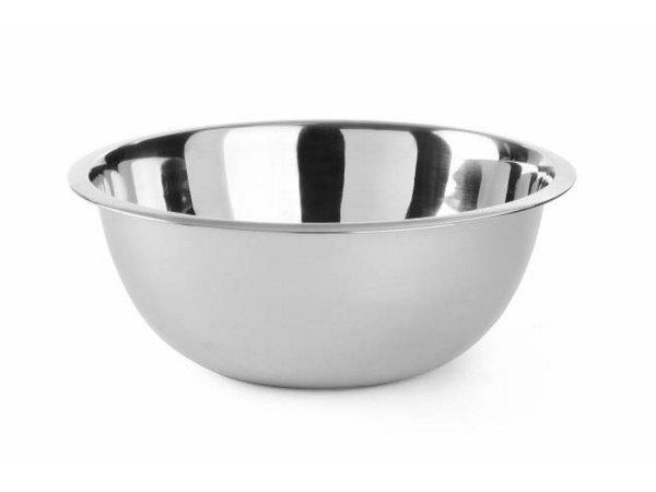 Hendi Stainless steel mixing bowl - 2.3-liter - Ø240x (h) 88mm