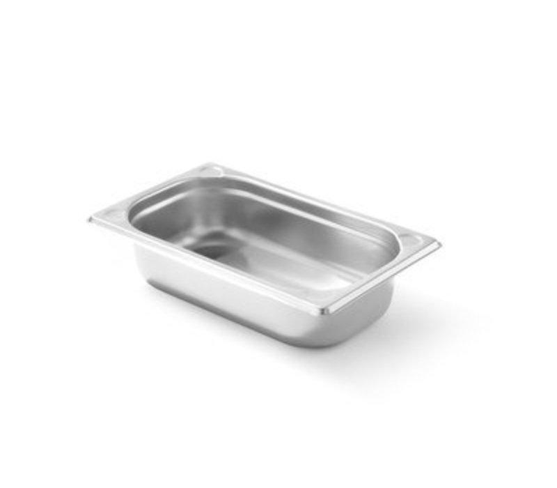Hendi Gastronormbak RVS 1/4 - 65 mm | 265x162mm