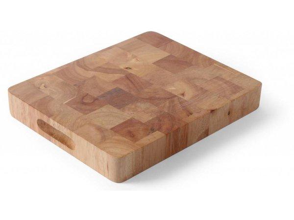 Hendi Cutting GN 1/2 45 mm - Rubber Wood - 265x325x (h) 45 mm