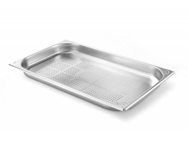 Hendi Gastronormbak RVS 1/1 - 40 mm | 325x530mm | Geperforeerd