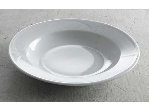 Hendi Board deep - 220x35 mm Saturn - White - Porcelain