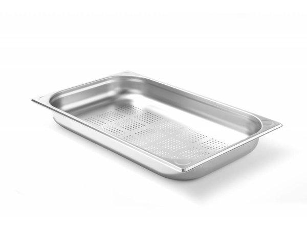 Hendi Gastronormbak RVS 1/1 - 65 mm | Perforated | 325x530mm