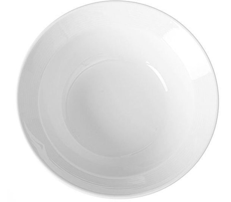 Hendi Dish 180x20 mm - Saturn - Ø190 mm - für Suppenschale - Weiß - Porzellan