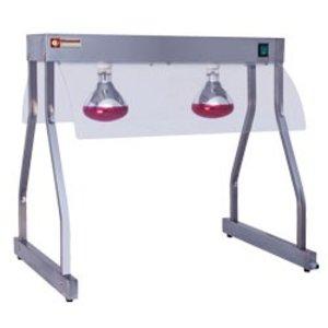 Diamond Infrarood Warmtebrug   2 x 250W Lamp   860 mm   0,5 kW   2 x 1/1GN