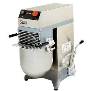 Santos Mixer / Mengkneedmachine | Acht Standen | RVS Kom 10 Liter | 36x53x(H)58cm
